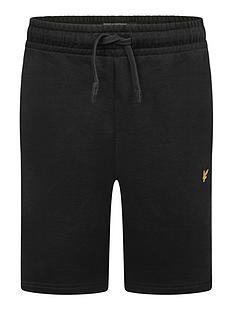 lyle-scott-boys-classic-jog-shorts-black