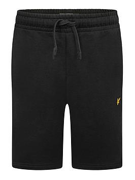 lyle-scott-boys-classic-jog-shorts-black