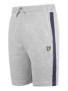 lyle-scott-boys-side-panel-shorts-grey