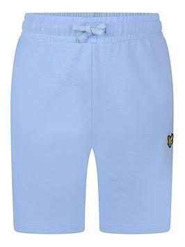 Lyle & Scott Lyle & Scott Boys Classic Jog Shorts - Chambray Blue Picture