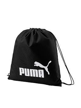 puma-phase-gym-sack-black