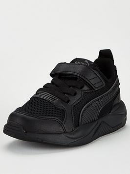 Puma Puma X-Ray Ac Childrens Trainers - Black Picture