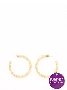 v-by-very-textured-metal-hoop-earrings-gold