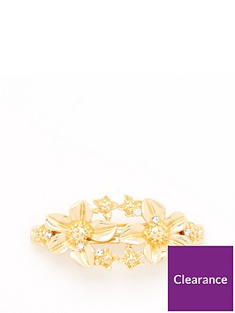 v-by-very-metal-flower-hair-clip-gold