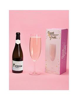 Fizz Fizz Giant Prosecco Glass Picture