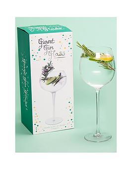 Fizz Fizz Giant Gin Glass Picture