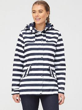Regatta Regatta Bertille Waterproof Jacket - Navy/Stripe Picture