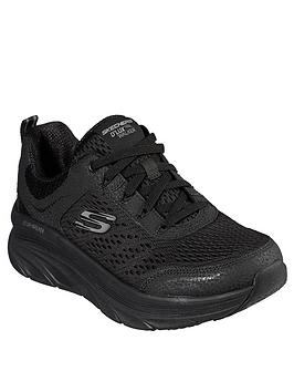 skechers-dlux-walker-trainers-black