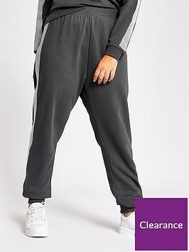 ri-plus-ri-plus-embellished-side-co-ord-jogger-grey
