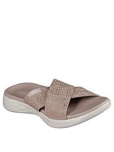 skechers-on-the-go-600-glistening-cross-strap-flat-sandal-blush