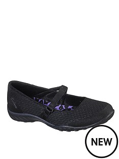 skechers-breathe-easy-ballerina-shoe-black