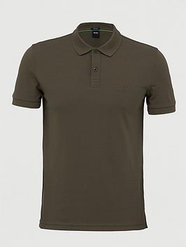 Boss Boss Golf Piro Shirt Sleeve Polo Shirt - Dark Green Picture