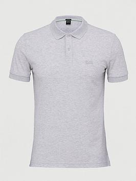Boss Boss Golf Piro Short Sleeve Polo Shirt - Grey Picture