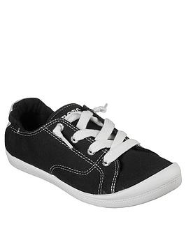 skechers-beach-bingo-ditch-day-plimsoll-black
