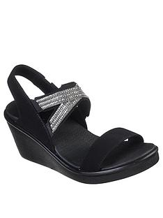 skechers-rumble-on-chart-topper-wedge-sandal-black