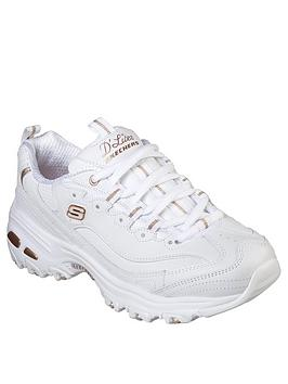 skechers-dlites-fresh-start-trainers-white