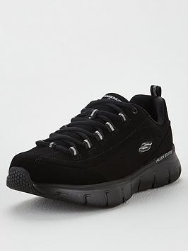 Skechers Synergy 3.0 Out &Amp; About Trainer - Black