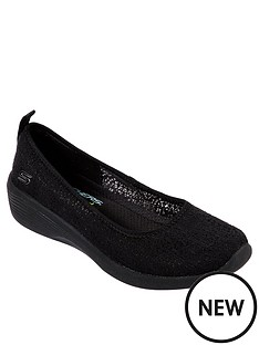 skechers-arya-airy-days-ballerina-shoes-black