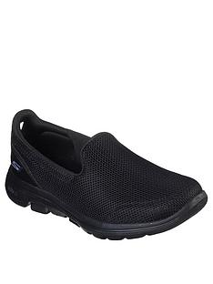 skechers-go-walk-5-wide-fit-slip-on-pump-black