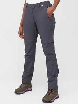 Regatta Regatta Highton Zip Off Walking Trousers - Grey Picture