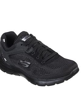 Skechers Skechers Flex Appeal 3.0 Moving Fast Trainers - Black Picture