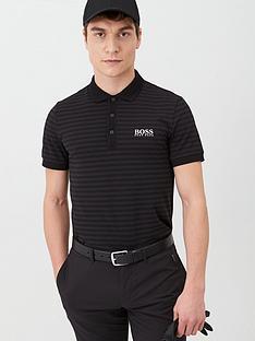 boss-paule-pro-golf-polo-shirt-black