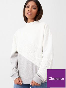 river-island-block-sweatshirt-cream
