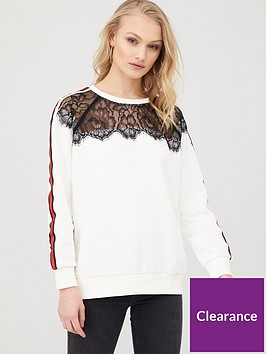 river-island-lace-neck-side-stripe-sweatshirt-white