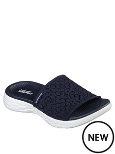 skechers-on-the-go-600-stellar-sandal-navywhite