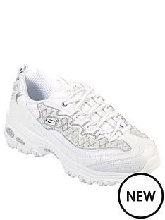skechers-dlites-wedding-bells-trainer-white
