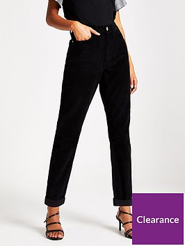 river-island-cord-mom-jeans-black