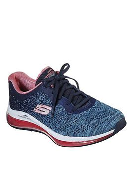 Skechers Skechers Skech-Air Element 2.0 Dance Talk Trainer - Navy/Multi Picture