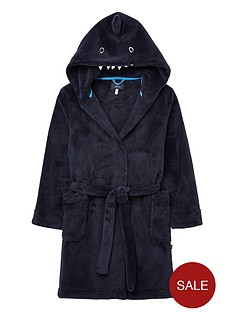 joules-boys-shark-dressing-gown-navy
