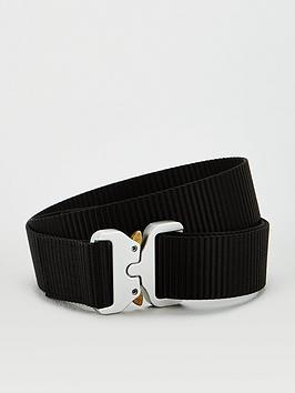V by Very V By Very Lyla Clip Buckle Webbing Belt - Black Picture