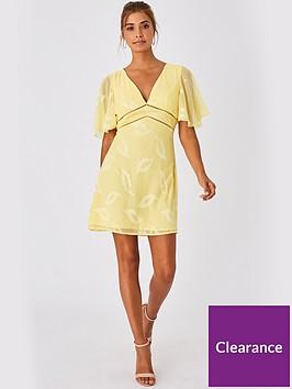 little-mistress-mini-applique-dress-lemon