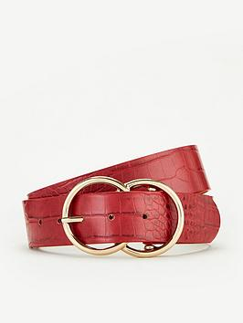 V by Very V By Very Lydia Double Buckle Belt Picture