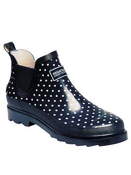 Regatta Regatta Lady Harper Shoe Welly - Navy Picture