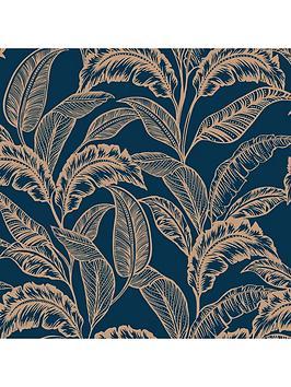 accessorize-mozambique-wallpaper-ndash-navygold