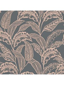 Accessorize Accessorize Mozambique Wallpaper &Ndash; Grey/Rose Picture