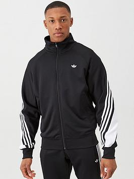 adidas Originals  Adidas Originals 3 Stripe Wrap Track Top - Black