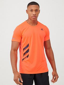 Adidas Adidas Response Run It T-Shirt - Red Picture