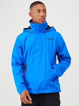 Adidas Adidas Terrex Ax Jacket - Blue Picture