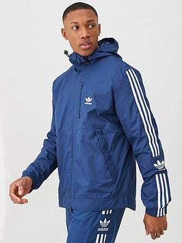 adidas Originals  Adidas Originals Lock Up Windbreaker - Navy