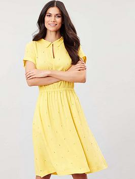 Joules Joules Joules Etty Broderie Woven Dress Picture