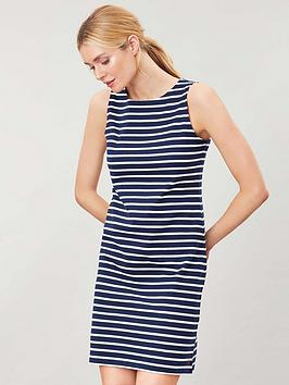 Joules Joules Riva Sleeveless Jersey Print Dress - Navy Picture