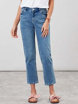 Joules Joules Etta Straight Leg Jeans - Blue Picture