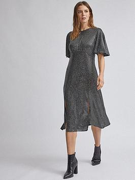 dorothy-perkins-angel-sleeve-sequin-midi-dress-silver