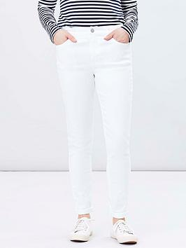 Joules Joules Monroe Skinny Jeans - White Picture