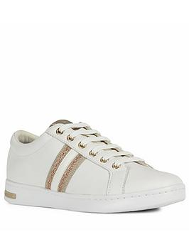 Geox Geox Jaysen Trainer - White Rose Gold Picture