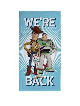 Toy Story Toy Story We&Rsquo;Re Back Towel Picture